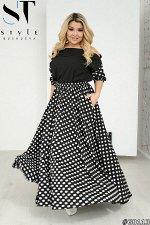 Костюм 68113 (блузка+юбка)