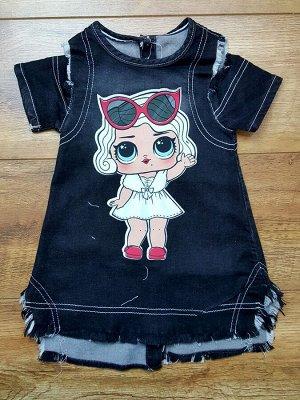 Платье джинсовое модель 4.D3.P?K.954.M17.S?YAH