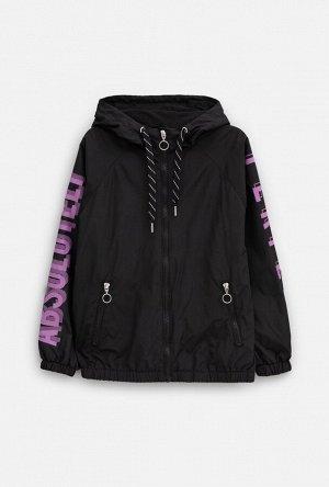 Куртка детская для девочек Druid черный