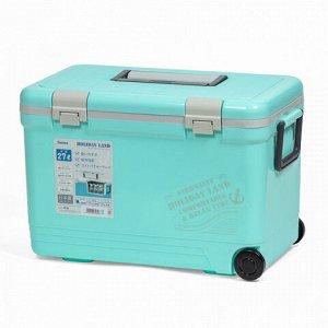 Термобокс SHINWA Holiday Land Cooler 27H синий  /6 /
