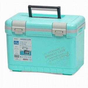 Термобокс SHINWA Holiday Land Cooler 11H синий   /9 /