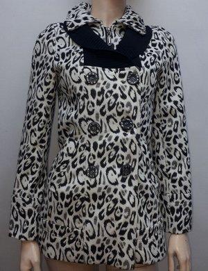 Пальто женское леопард