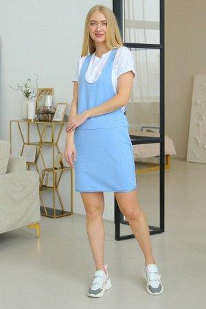 Сарафан женский 223L3 голубой