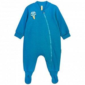 Комбинезон (стопа) для мальчика, голубой