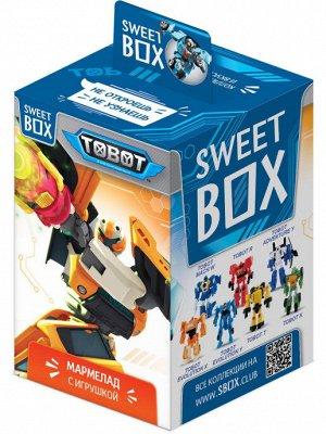 Свитбокс TOBOT Мармелад с игрушкой в коробочке, 10г.