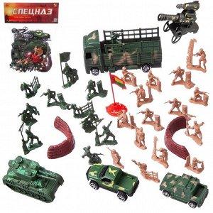 """Набор военных фигурок""""Спецназ"""", 38 предметов275"""