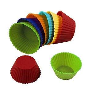 Набор силиконовых форм для кексов/капкейков