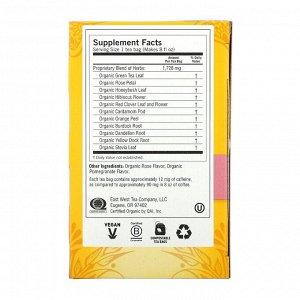 Yogi Tea, Skin DeTox, успокаивающая роза и гибискус, 16 чайных пакетиков, 112 унц. (32 г)