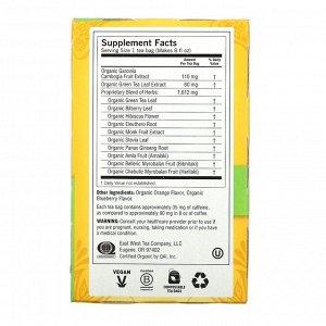 Yogi Tea, Organic, Green Tea Blueberry Slim Life, 16 Tea Bags, 1.12 oz (32 g)