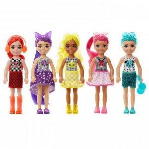 Кукла Mattel Barbie Кукла-сюрприз Челси Волна 23