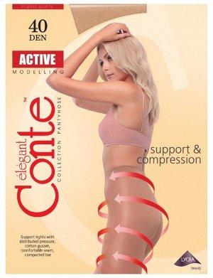 Active 40 колготки (Conte)/10/ шортики, коррекция