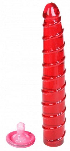 Рельефный универсальный стимулятор Jelly Benders Long Widget
