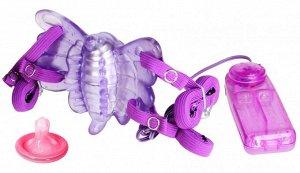 Клиторальный стимулятор-бабочка с вибрацией Sex Butterfly