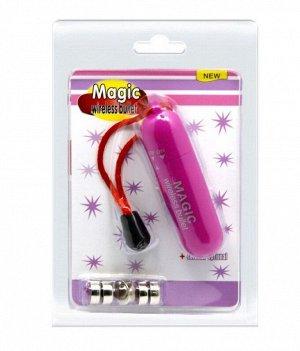 Мини-вибратор Magic Wireless Bullet (1 режим)