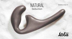 Безремневой анальный страпон Natural Seduction Black