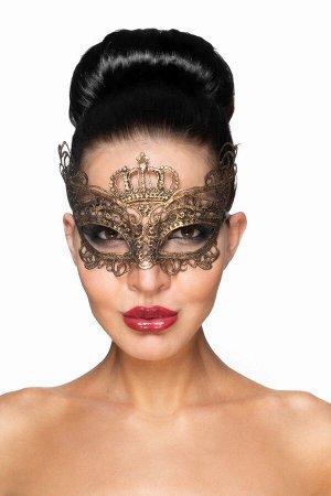 Золотистая карнавальная маска Эниф