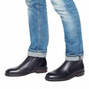Ботинки Материал: Кожа натуральная Подкладка: Текстиль Цвет: черные Сезон: Демисезон 🔆Важно!!! Заказ автоматически подтверждается только после оплаты, не нужно ждать подтверждения) Все представленные