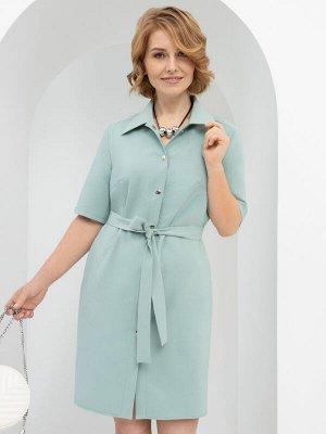 Платье-рубашка Подчеркнуть женственность (с поясом)