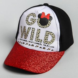 "Кепка детская ""Go wild"" Минни Маус, р-р 52-56 5425157"