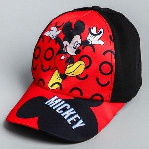 """Кепка детская """"Mickey"""" Микки Маус, р-р 52-56 5425159"""