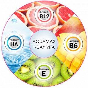 Однодневные контактные линзы (PEGAVISION) AQUAMAX 1-DAY VITA (30 линз)