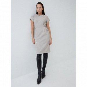 Платье женское темно-бежевый/песочный