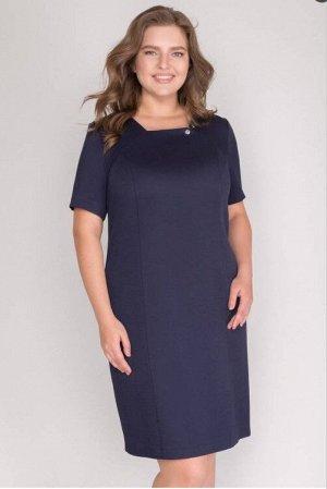 Платье СОСТАВ: Ткань верха:,Вискоза 72%,Хлопок 27%,Эластан 1%,Подкладка:,Полиэстер 92%,Нейлон 8%