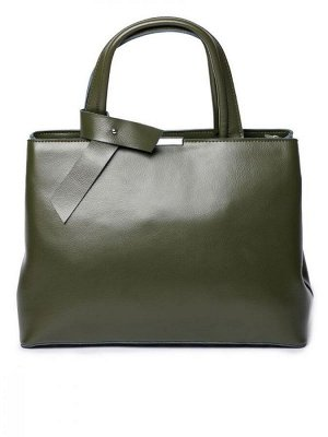 Женская кожаная сумка SESIL. Темно-зеленый