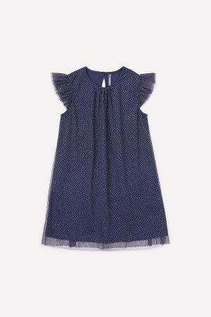 Платье(Весна-Лето)+girls (фиолетово-синий)