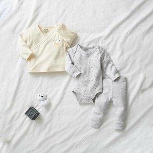 Боди, кардиган и легинсы Eco-conception - серый