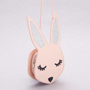 Сумочка в форме кролика - розовый