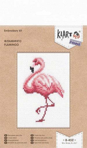Набор для вышивания Фламинго 10*14 см