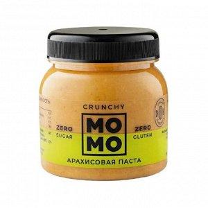 Арахисовая паста  CRUNCHY  МОМО