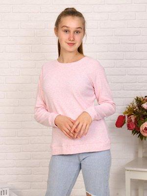 Джемпер Цвет: розовый; Состав: хлопок72%, п/э20%, лайкра8%; Материал: трикотажное полотно Универсальный джемпер на девочку хорошо подойдет в качестве школьного варианта и для повседневной носки.