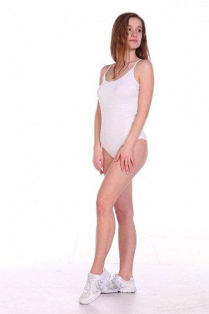 Боди Цвет: белый; Состав: хлопок 92%, лайкра 8%; Материал: трикотажное полотно Боди в качестве нижнего белья очень удобны, особенно зимой. Оно не задирается, нежно облегая Ваше тело. Оно фиксируется в