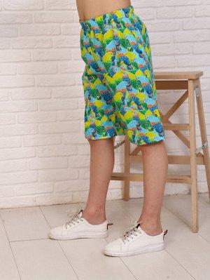 Шорты Состав: Хлопок 100%; Материал: Кулирка Стильные шорты свободного кроя, с удобными карманами, пояс на резинке. Это идеальная модель для дома и отдыха! Ткань лёгкая, приятная кулирка.