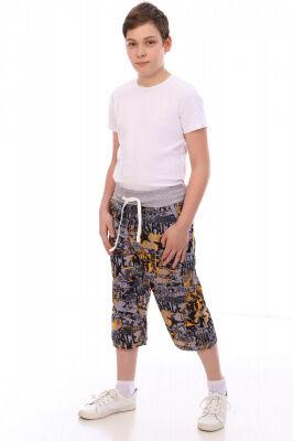 Шорты Состав: Хлопок 100 %; Материал: Кулирка Удобный шорты на мальчика, хорошо подойдут для спорта и прогулок. Пояс со шнурком, карманы в боковых швах.