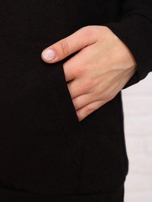 Худи Цвет: черный; Состав: хлопок72%, п/э20%, лайкра8%; Материал: футер двухнитка с лайкрой Худи — очень модная и популярная, она сочетает в себе комфорт и стиль. У данной модели базовые расцветки, чт