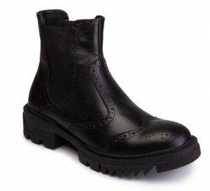 Ботинки Ботинки. Замка нет. Цвет: Чёрный. На узкую и обычную ножку без подъёма.