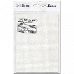 Канва №14 цвет белый с перламутровым люрексом 50*50 см