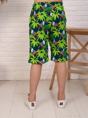 Шорты Состав: Хлопок 100%; Материал: Кулирка Легкие шорты - одна из самых незаменимых вещей в летний период в гардеробе ребенка. Без них трудно представить активный отдых. Эластичный пояс обеспечивает