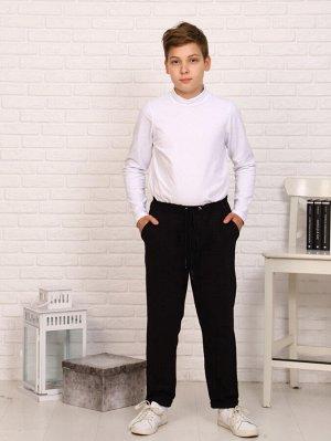 Брюки Цвет: черный; Состав: хлопок 95%, лайкра 5%; Материал: футер с лайкрой Классические брюки в клетку из хлопкового футера с лайкрой. Зауженный крой, стандартная посадка, боковые карманы. На поясе