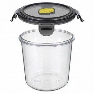 Контейнер для продуктов герметичный с клапаном Brilliant круг 1,15 л