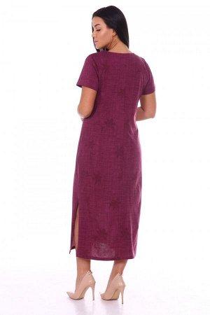 Платье Ткань: Кулирка; Состав: 100% хлопок; Размеры: 48, 50, 52, 54, 56, 58