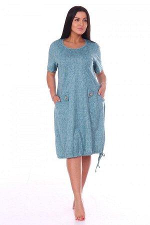 Платье Ткань: Кулирка; Состав: 100% хлопок; Размеры: 54, 56, 58, 60, 62, 64