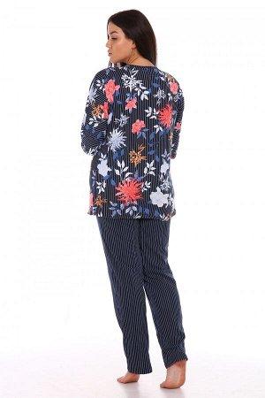 Пижама Ткань: Кулирка; Размеры: 50, 52, 54, 56, 58, 60