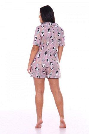 Пижама Ткань: Кулирка; Состав: 100% хлопок; Размеры: 48, 50, 52