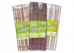 Набор подставок из бамбука 40х31 см
