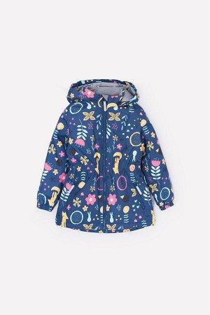 Куртка(Весна-Лето)+girls (темно-джинсовый, летний лес)