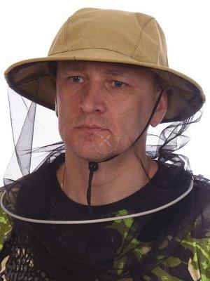 Шляпа-накомарник (палатка)
